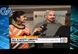 Scott and Jill are guests on CBS Backstage Live in New York City