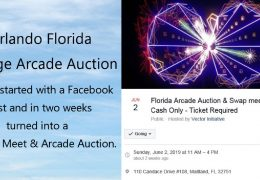 Orlando Auction 06/02/19 – Largest Arcade Auction in recent history