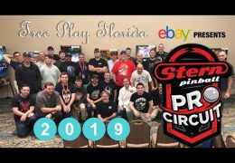 Free Play Florida 2019 Stern Pinball Pro Circuit Final Play and Interviews