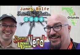 Angry Video Game Nerd Interview – Free Play Florida with PlanetScott.TV Nov. 23rd 2019